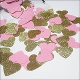 Large Glitter Hearts Confetti - Jaclyn Peters Designs - 1