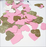 Large Glitter Hearts Confetti - Jaclyn Peters Designs - 2