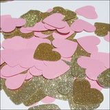 Large Glitter Hearts Confetti - Jaclyn Peters Designs - 3