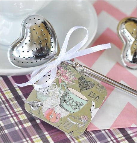 Heart Tea Infusers With Gift Tag - Jaclyn Peters Designs - 1