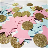 Gender Reveal Party Star Confetti - Jaclyn Peters Designs - 3