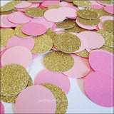 Pink, Rose & Gold Party Confetti - Jaclyn Peters Designs - 1