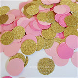 Pink, Rose & Gold Party Confetti - Jaclyn Peters Designs - 2