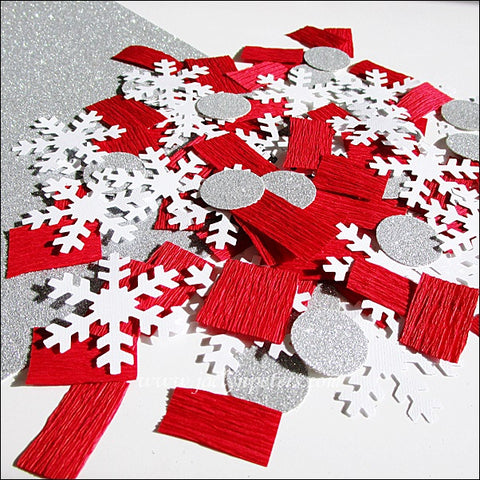 Holiday Snowflake Party Confetti - Jaclyn Peters Designs - 1