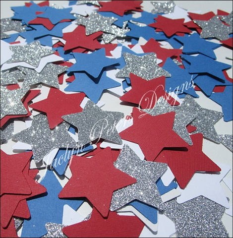 Fourth Of July Star Party Confetti - Jaclyn Peters Designs - 1