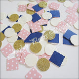 Pink, Navy & Gold Party Confetti - Jaclyn Peters Designs - 2