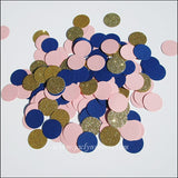 Navy, Pink & Gold Party Confetti - Jaclyn Peters Designs - 2