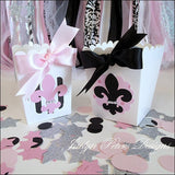 Paris Party Favor Popcorn Boxes - Jaclyn Peters Designs - 2