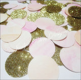 Pink, Peach & Gold Watercolor Confetti - Jaclyn Peters Designs - 2