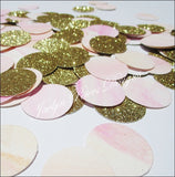 Pink, Peach & Gold Watercolor Confetti - Jaclyn Peters Designs - 1