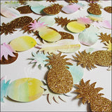 Tropical Pineapple Party Confetti - Jaclyn Peters Designs - 3