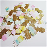 Tropical Pineapple Party Confetti - Jaclyn Peters Designs - 5