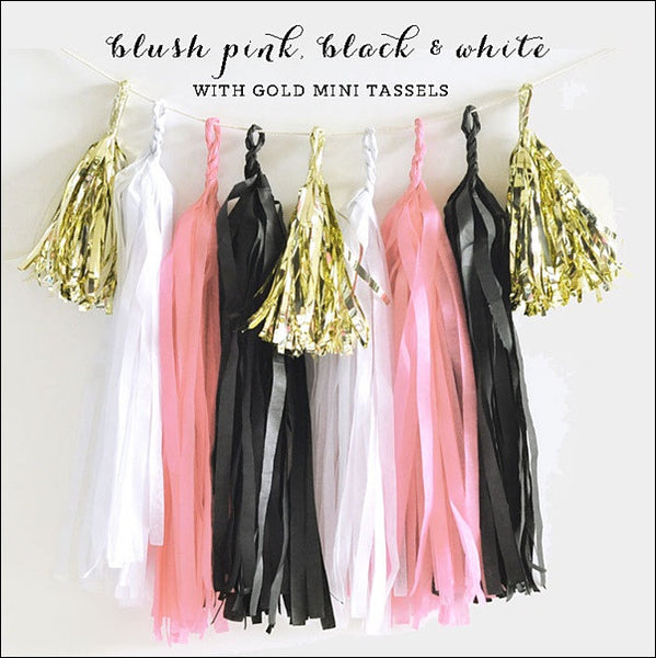 Paris Party Tassel Garland Kit - Jaclyn Peters Designs - 1