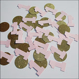 Girl's First Birthday Party Confetti - Jaclyn Peters Designs - 1