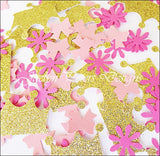 Pink & Gold Princess Confetti - Jaclyn Peters Designs - 2