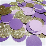 Purple & Gold Party Confetti - Jaclyn Peters Designs - 2
