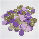 Purple & Gold Party Confetti - Jaclyn Peters Designs - 3