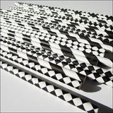 Black & White Party Straw Mix - Jaclyn Peters Designs - 1