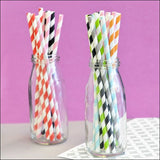 Vintage Striped Party Straws - Jaclyn Peters Designs - 1