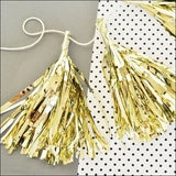 Mini Metallic Party Tassels Set of 18 - Jaclyn Peters Designs - 4