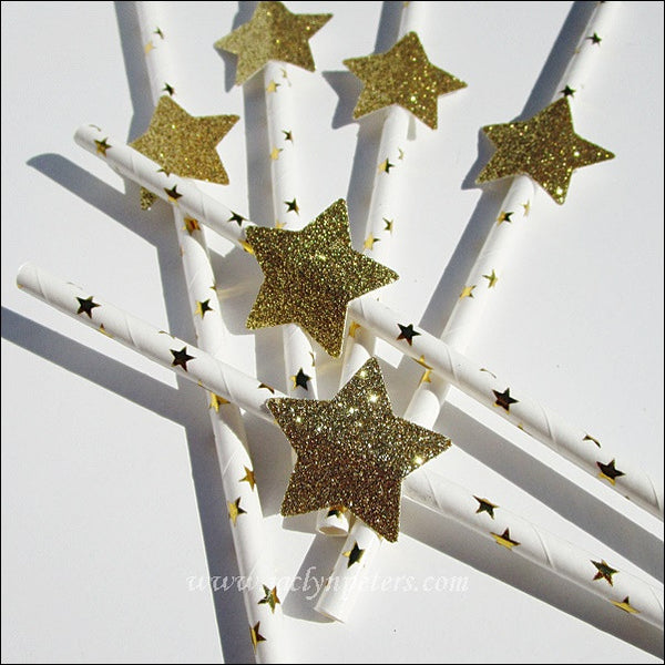 Twinkle Twinkle Little Star Party Straws - Jaclyn Peters Designs - 1