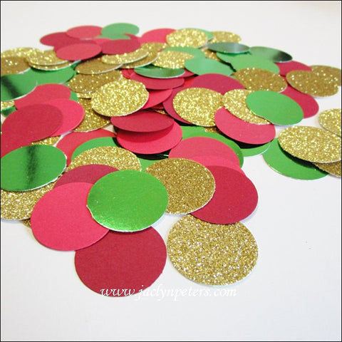 Christmas Party Glitter Confetti - Jaclyn Peters Designs - 1