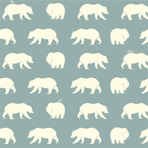 Cream Bear Pattern