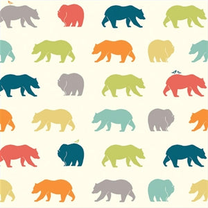 colorful bear pattern