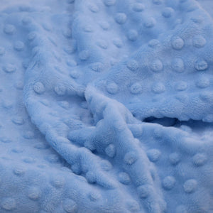 dimple baby blue fabric