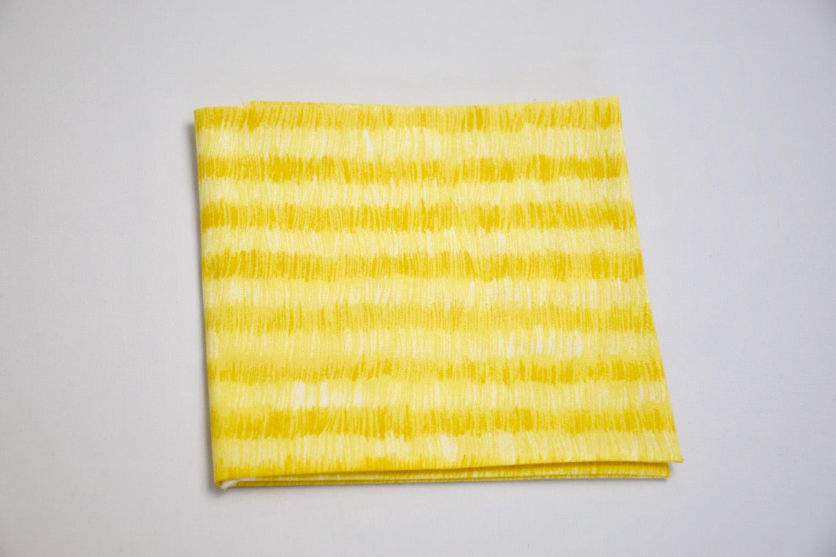 Brushed Stripe Yellow