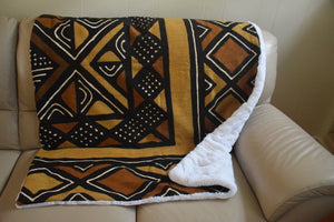 Mudcloth Throw Blanket