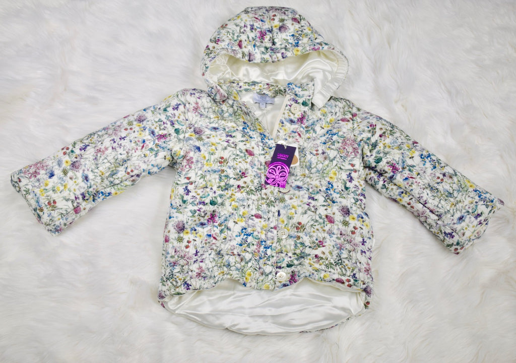 Quilted Snow Jacket - Floral