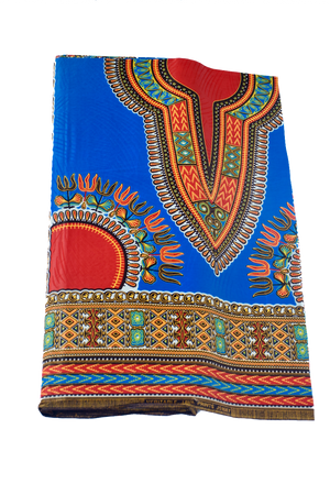 Electric Blue Dashiki