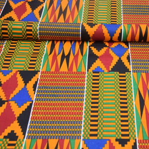 Kente Cloth Fabric