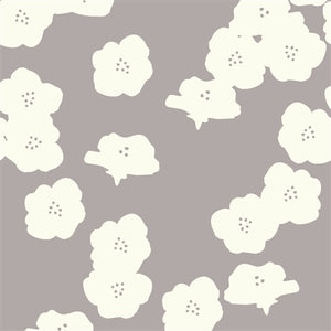 cream color floral pattern