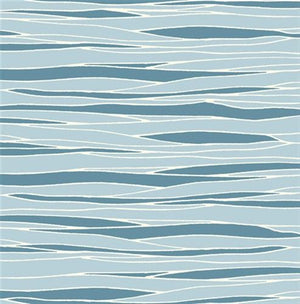 blue river water pattern