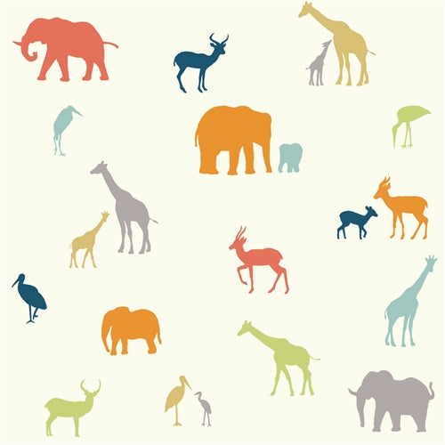 multi-colored animal pattern