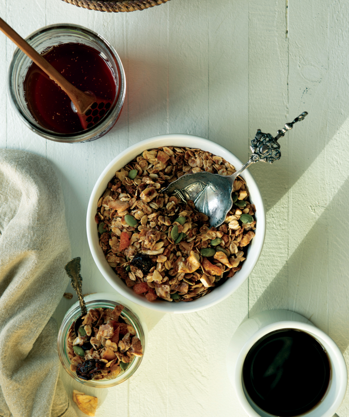 Glacier Bay Granola Recipe