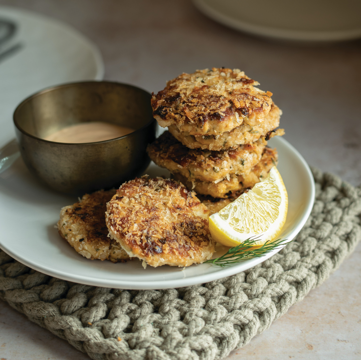 Superfood Salmon Cakes Recipe
