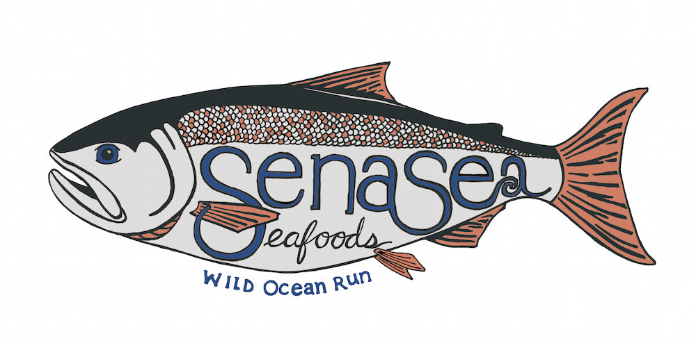 SenaSea Fish - logo colors