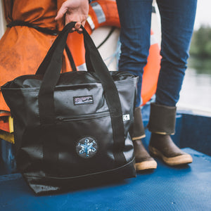 Black Boat Bag