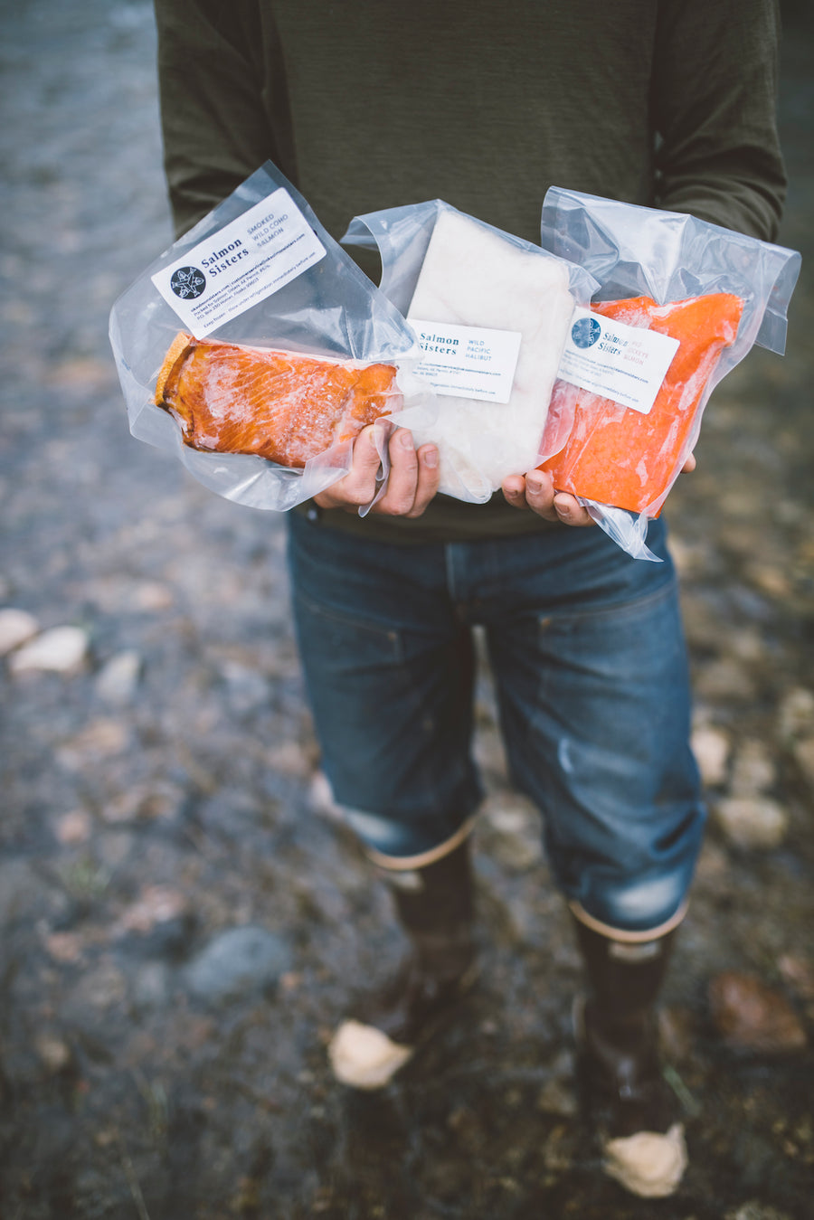 Wild Alaska Salmon & Halibut Box