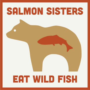 Eat Wild Fish Bear Decal
