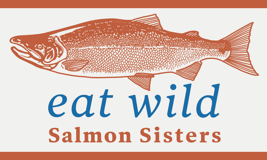 Eat Wild Salmon Decal