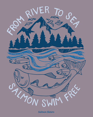 River To Sea Decal