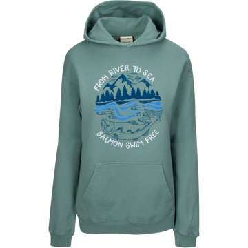 River to Sea Pullover Hoodie