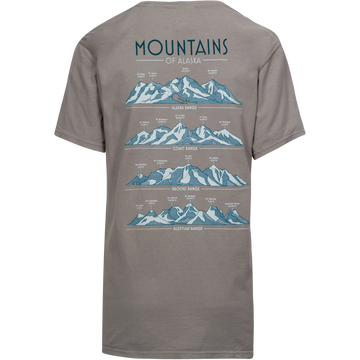 Mountains of Alaska Pocket Tee