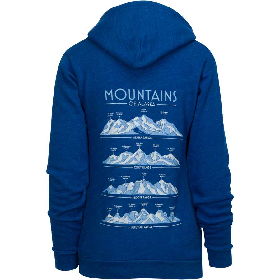 Mountains of Alaska Hoodie