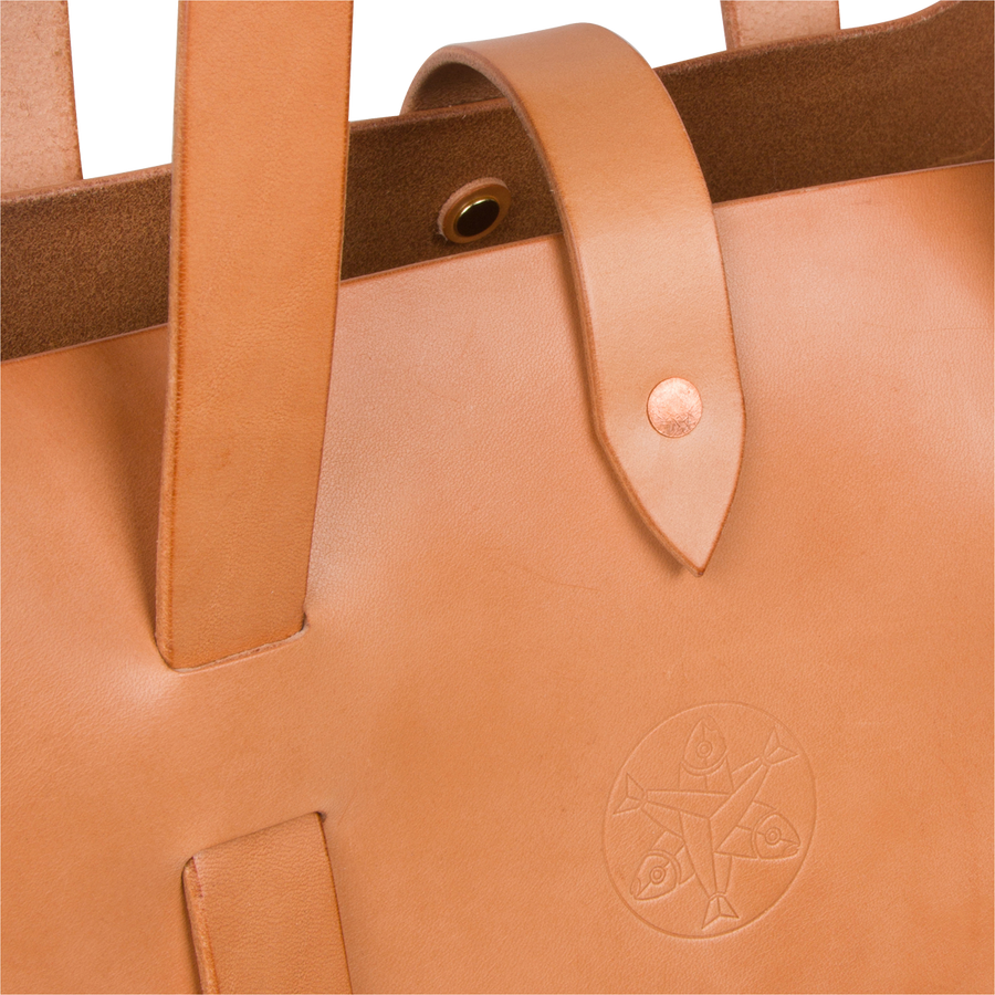 Tempest Leather Tote