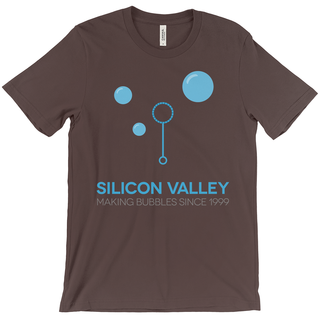 Silicon Valley: Making Bubbles Tee